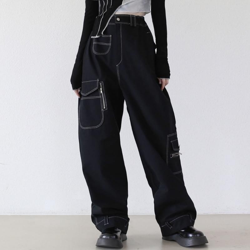 Kimon Stitch Cargo Pants