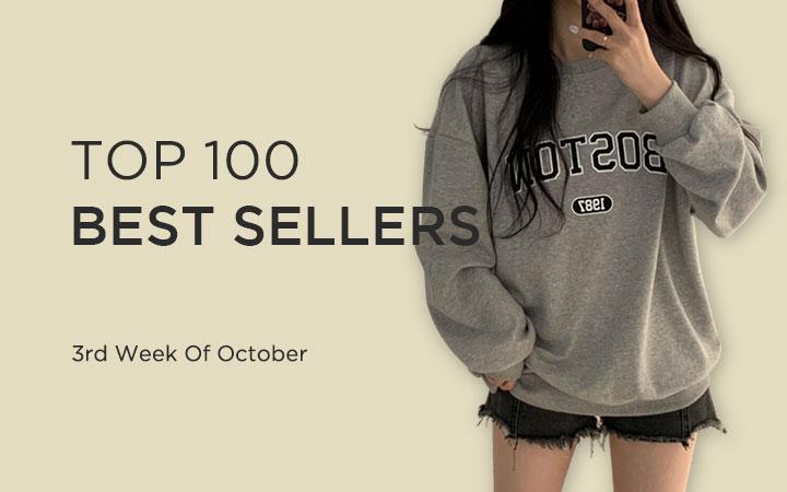 TOP 100 BEST SELLERS - 3rd Week Of October