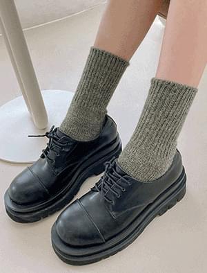 dowel angora socks
