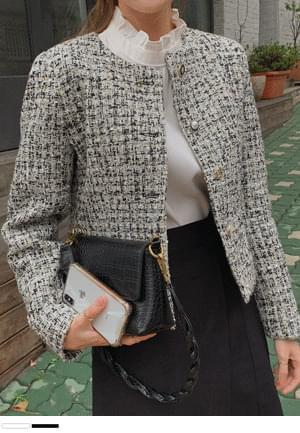 tweed jacket full of sophistication