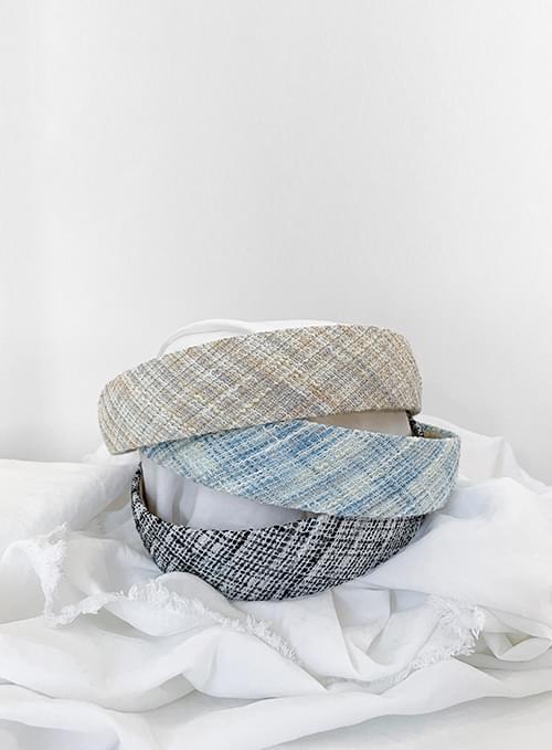 mix tweed headband