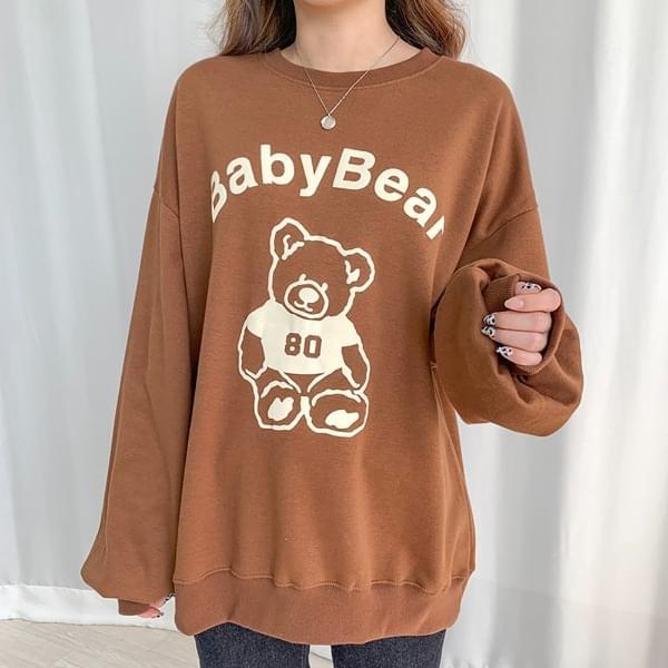 Baby Bear Balloon Fleece-lined Sweatshirt