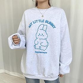Little Bunny Fleece-lined Sweatshirt