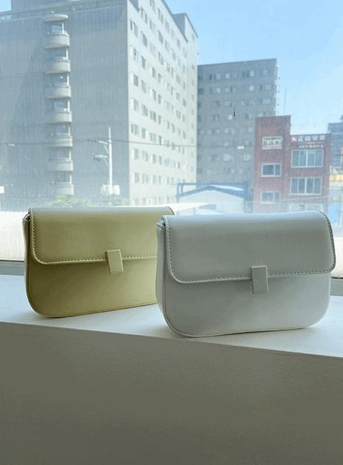 clip square crossbody bag