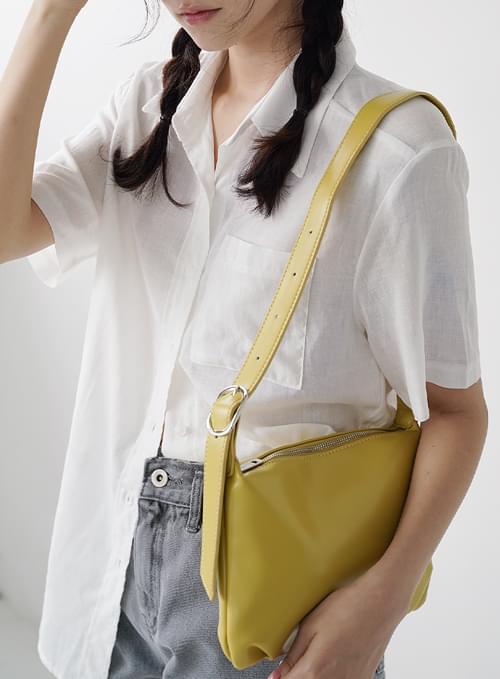 Fay Square Buckle Shoulder Bag