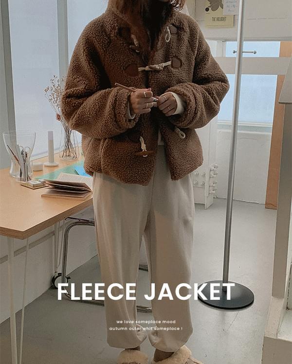 #made some bare dumble fleece jacket