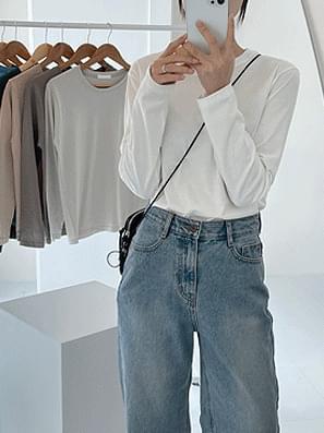 FW Basic Round Long Sleeve Tee