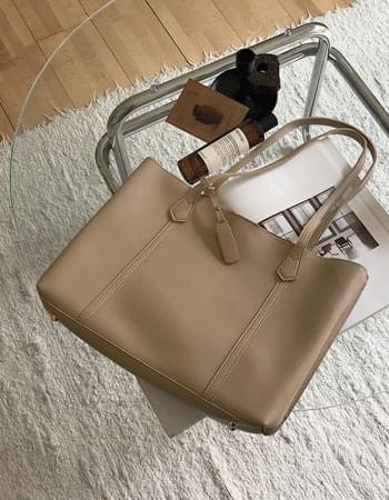 Big shoulder bag that fits anything