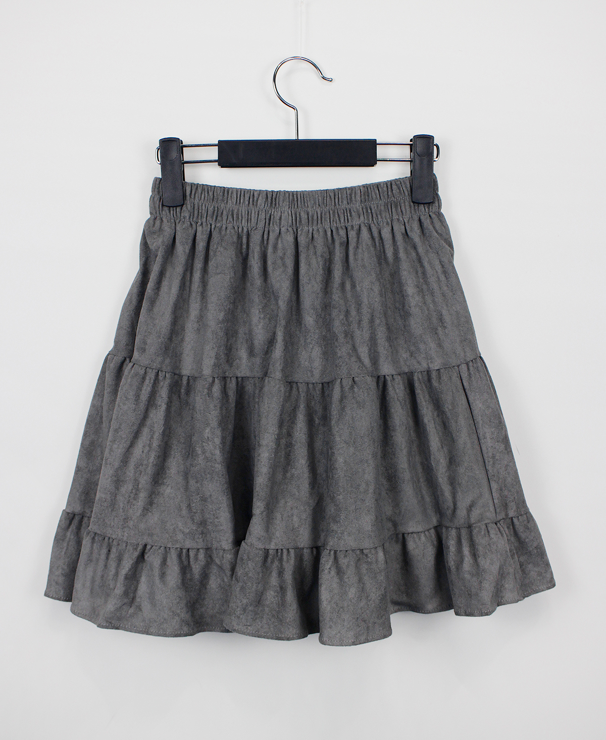 suede cancan skirt