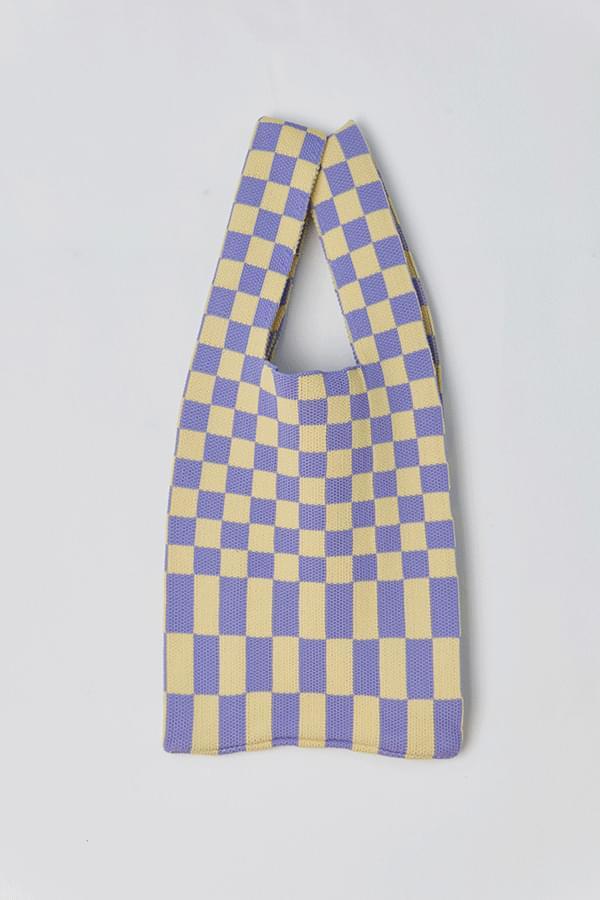 Ripst Check Knitwear Bag