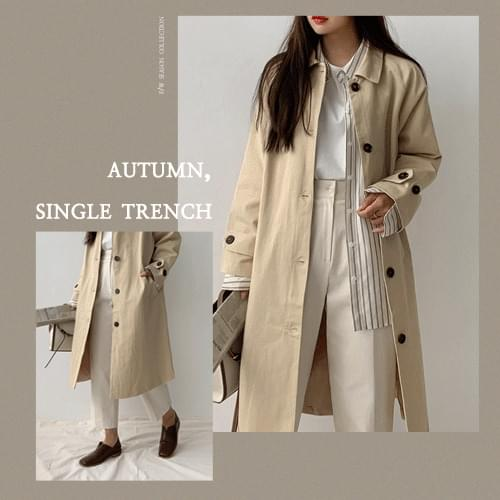 London single trench coat recommended for short girls 夹克