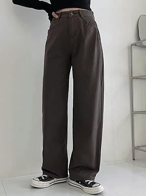 bio high cotton wide pants