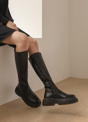 Josephine oversole long heel boots