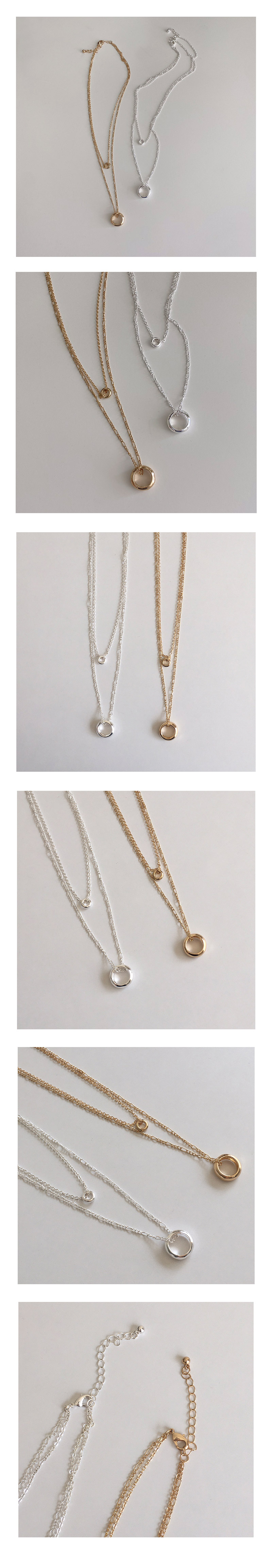 two round necklace