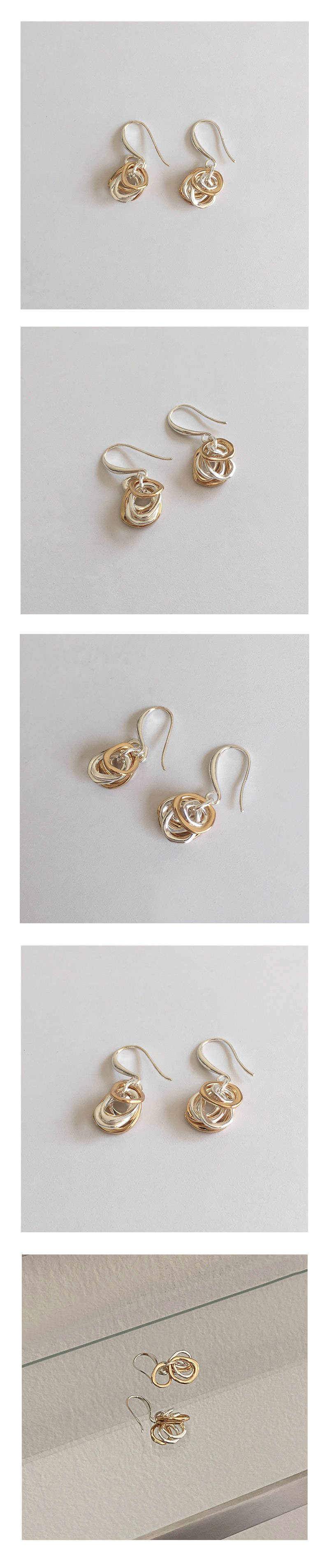stain combi earring