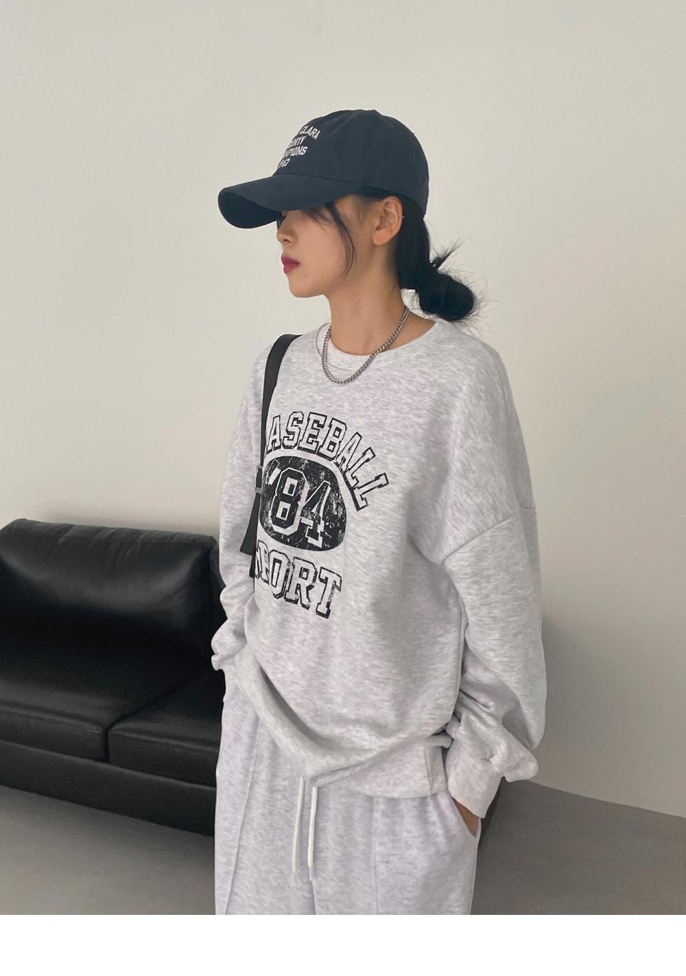 Bath Print Sweatshirt