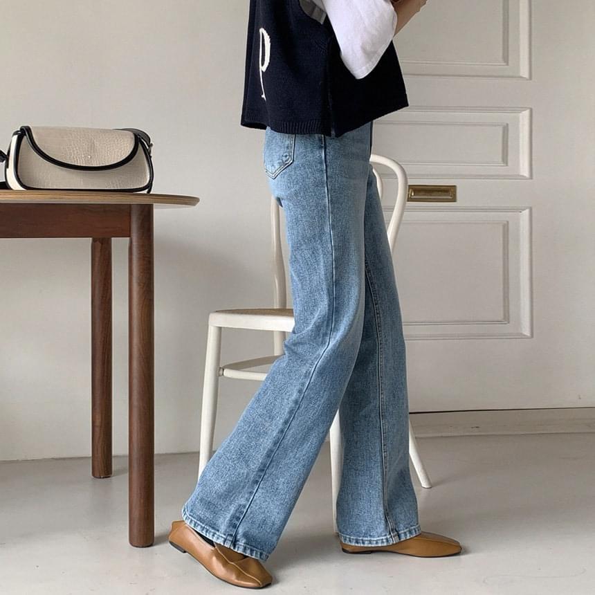 Double Long Denim Pants 牛仔褲
