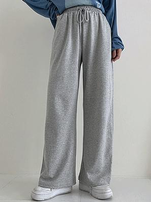 Special wide banding pants