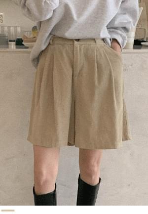 Perfect Golden Half Pants