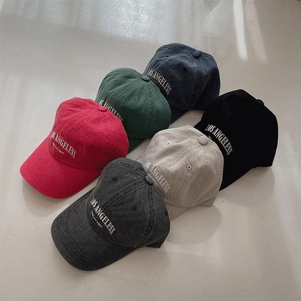 Vintage Faded Los Angeles Ball Cap Hat