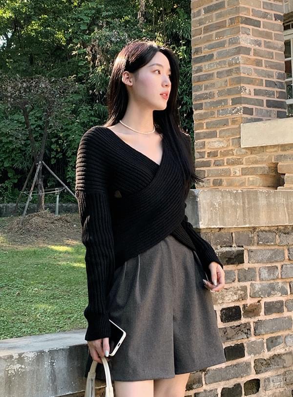 Karon Wrap Knitwear