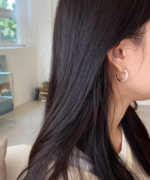 rough earring