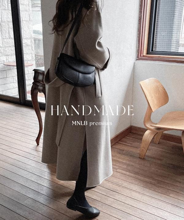 Slit Hidden Single Handmade Long Coat