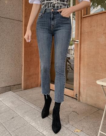 High Elasticity Compression Slim Denim Pants