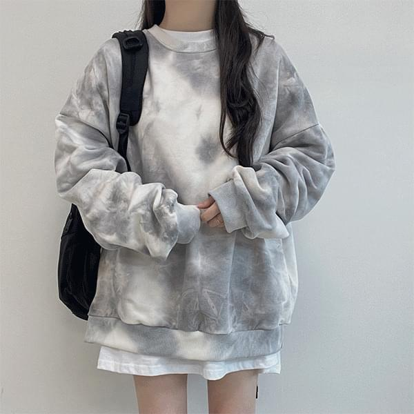 Nice tie-dye water print Sweatshirt