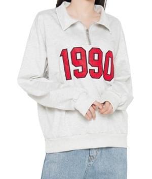 1990 Collared Sweatshirt