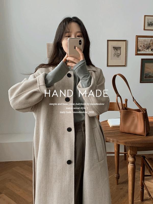 Beson Long Handmade Coat - wool 80