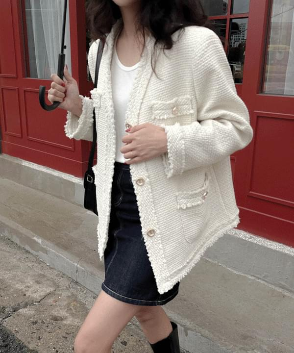 Loe Vintage Tweed Jacket