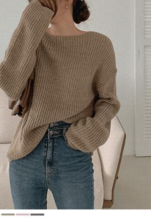 Loose Off Alpaca Knitwear