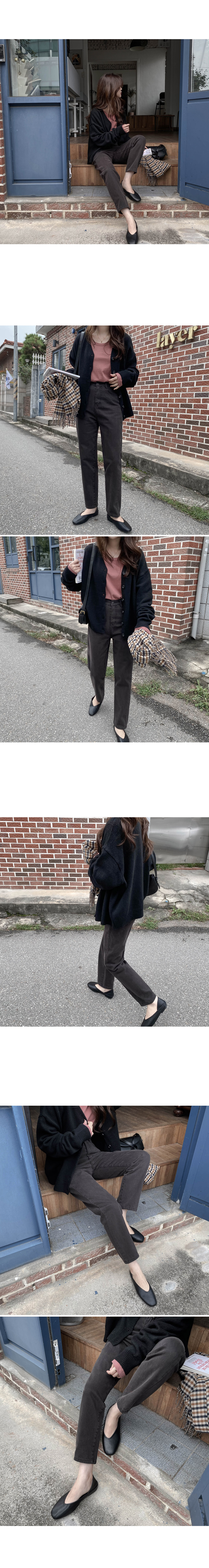 Elly two-way simple flat shoes