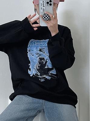 Sweatshirt Cats Juri Sweatshirt
