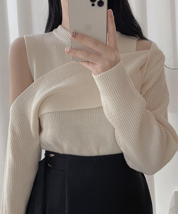 Pale Unopened Knitwear 3color