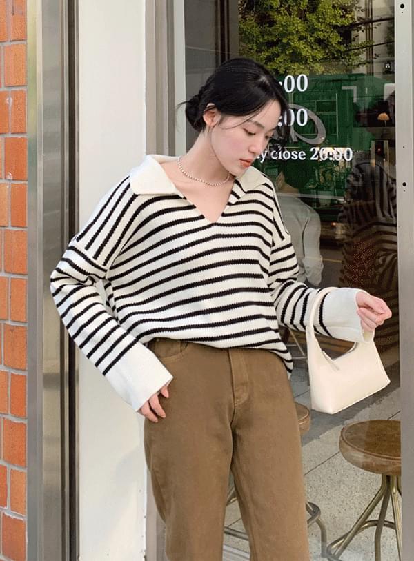 Allen Striped Knitwear