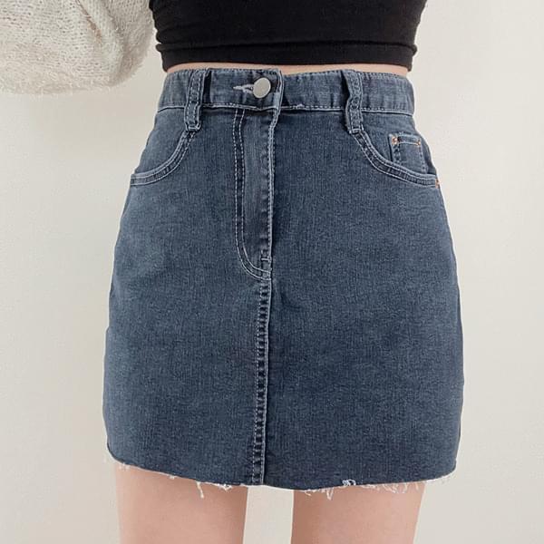 more denim skirt