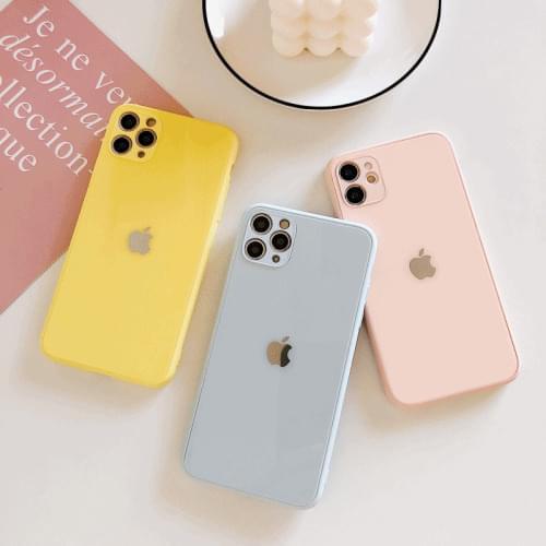 pastel glass case