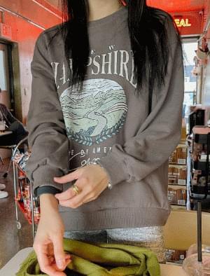 Hampshire Unique Printing Sweatshirt