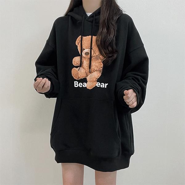 Feel good tension-up bear, Sweatshirt hooded sweatshirt