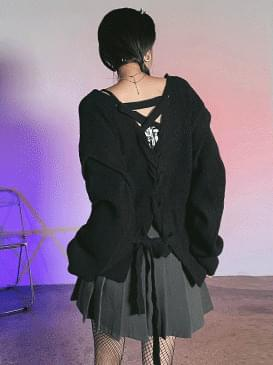 Back Ribbon Rush Knitwear
