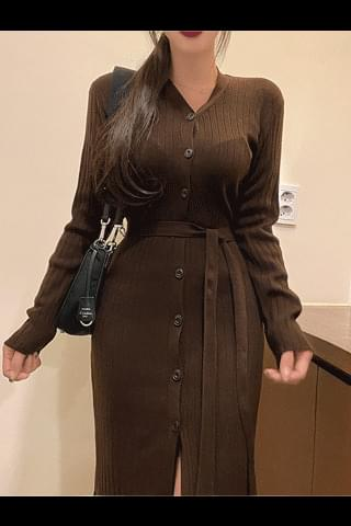 Maria long cardigan Dress