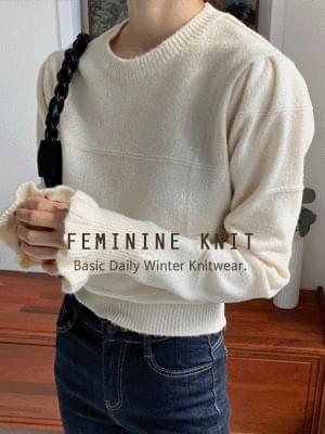 Moa Sleeve Knitwear