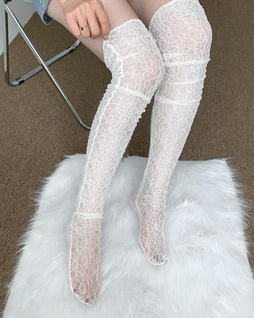 Dory Lace Knee Socks