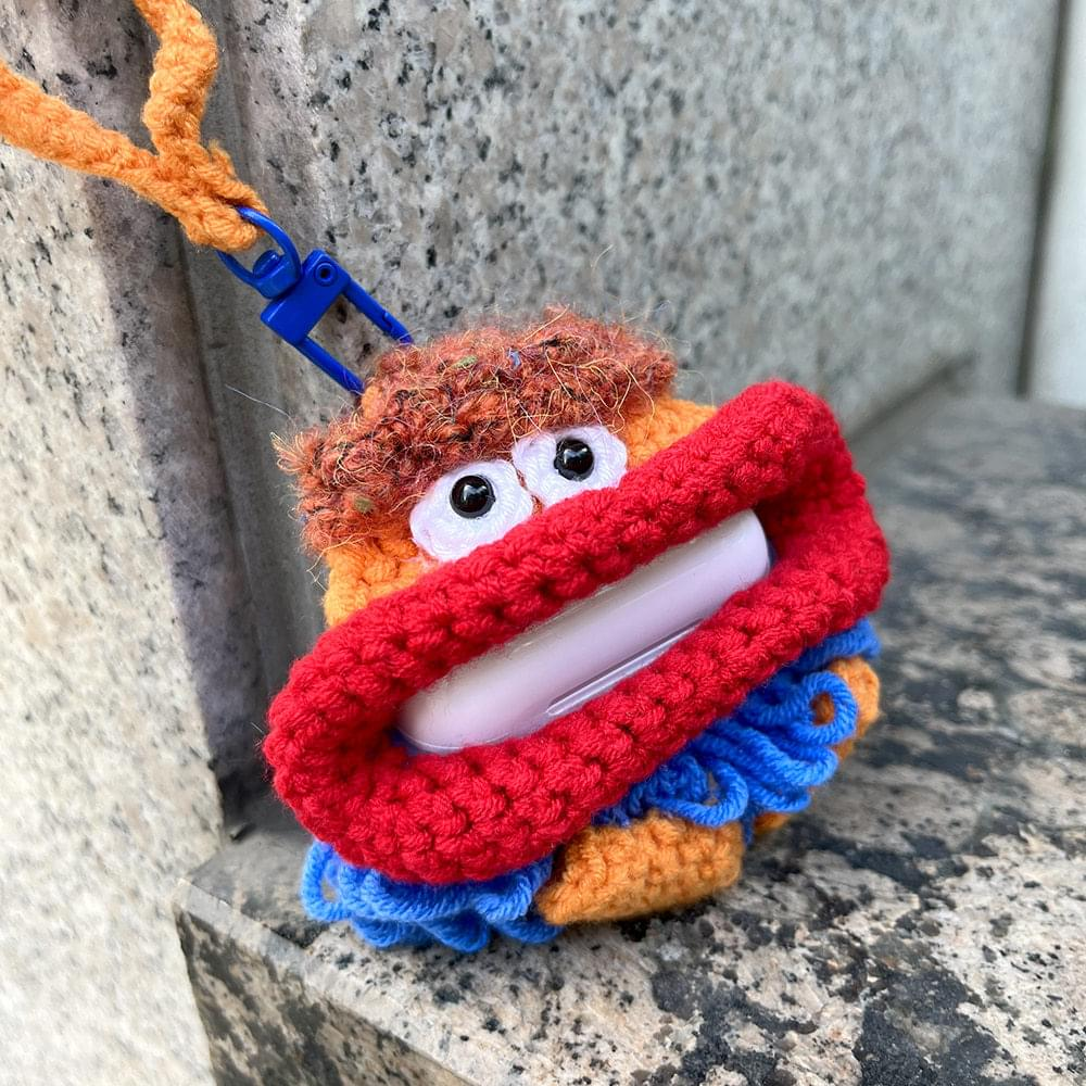 Ugly Doll Knitwear Knitting AirPods Case