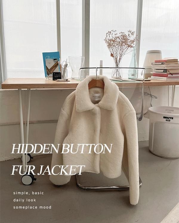 #made some baby hidden fur jacket