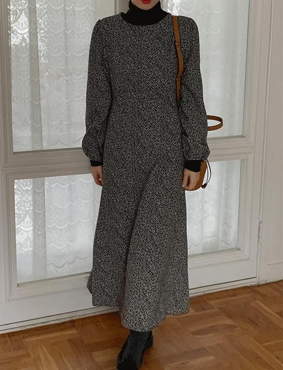 custom pattern Fleece-lined Dress