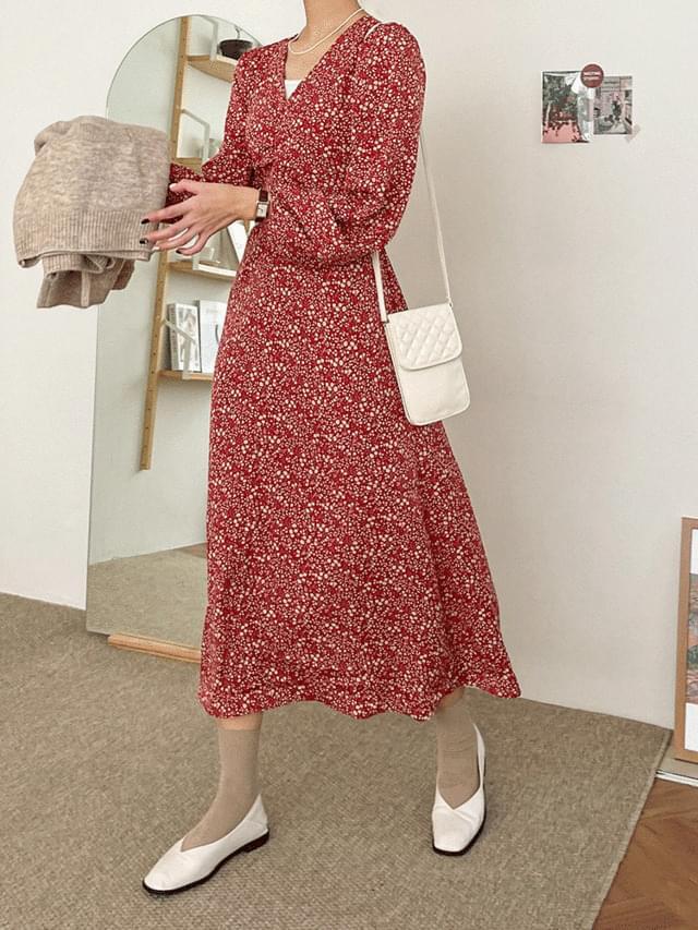 Big Size 66-120 Mutae Strap Long Dress