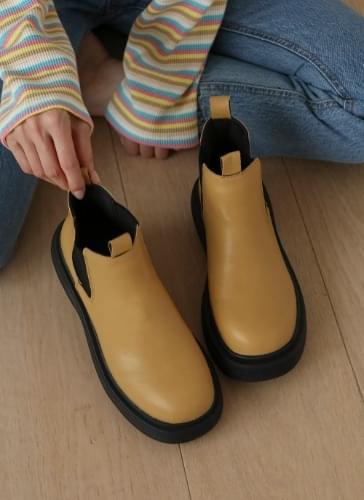 Fogs Platform Chelsea Ankle Boots BSLTR4d235